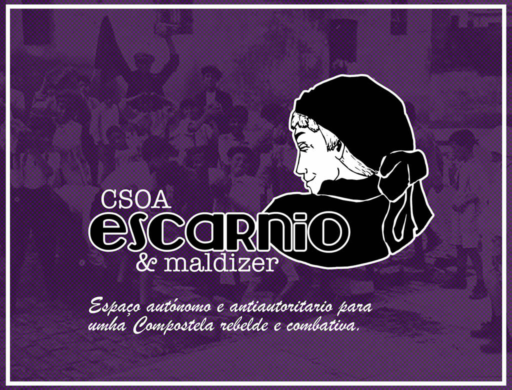 Logo do CSOA Escarnio e maldizer