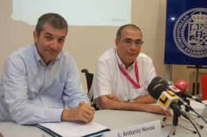José Antonio Novoa e Juan José Maraña
