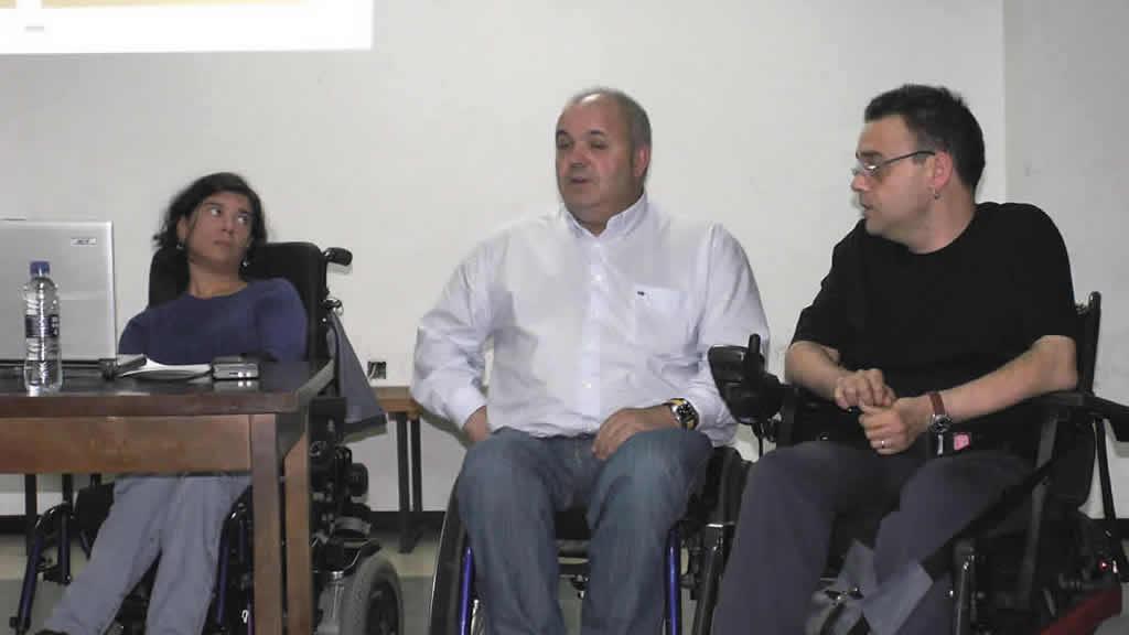 Anxela López, Adolfo López e Kiko Fernández