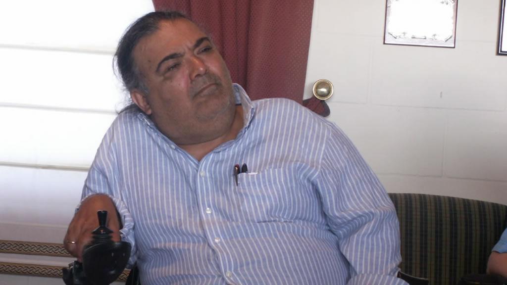 Manuel Lobato, membro do Foro de Vida Independente