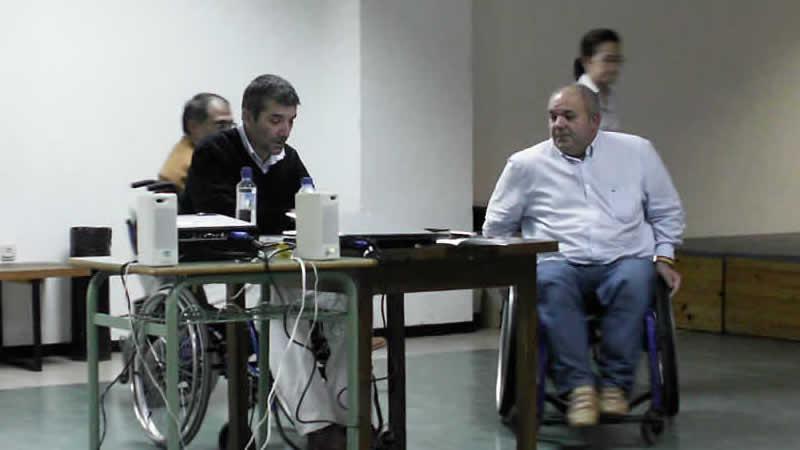 José Antonio Novoa e Adolfo López