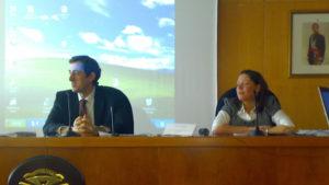 Ricardo Ron e Marta Núñez
