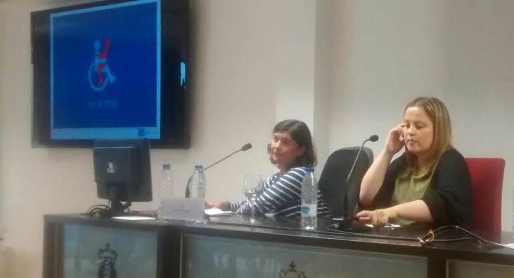Anxela López Leiceaga durante a súa intervención na Xornada sobre saúde e sexualidade