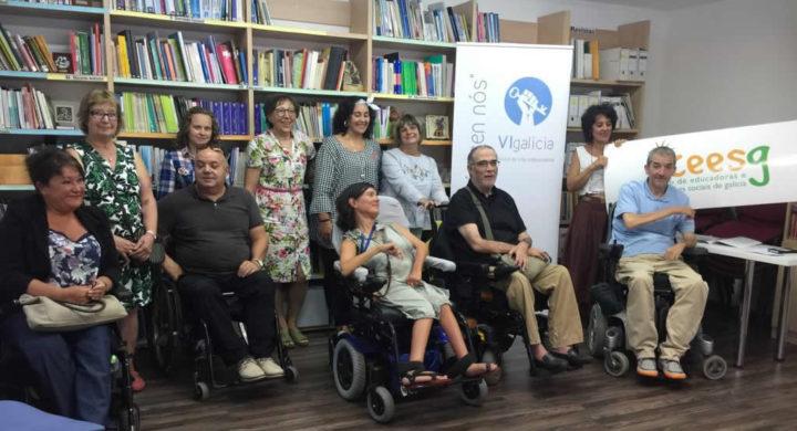 Membros de VIgalicia e público asistente ao acto