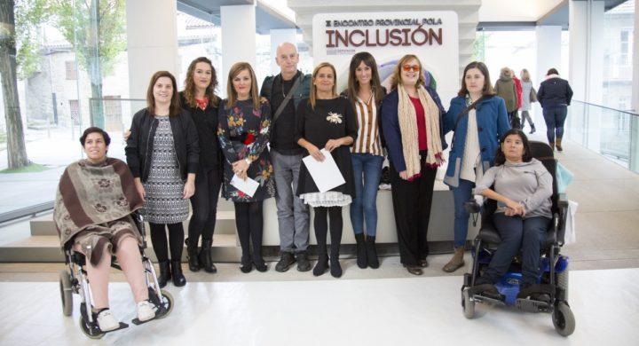 Participantes no terceiro encontro provincial pola inclusión