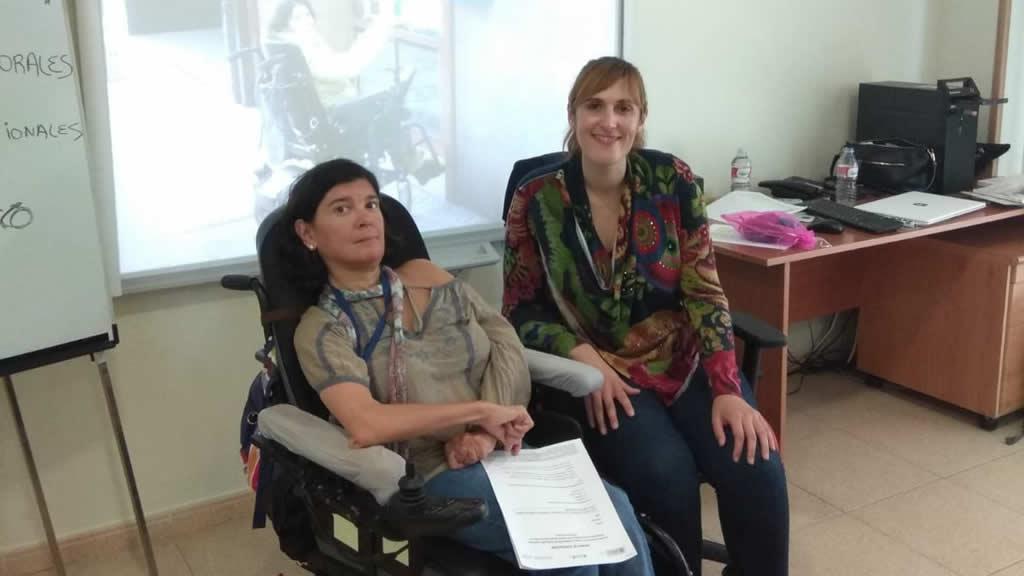Anxela López Leiceaga e Martina González Veiga