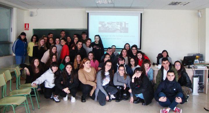 Alumnas de CIFP Portovello