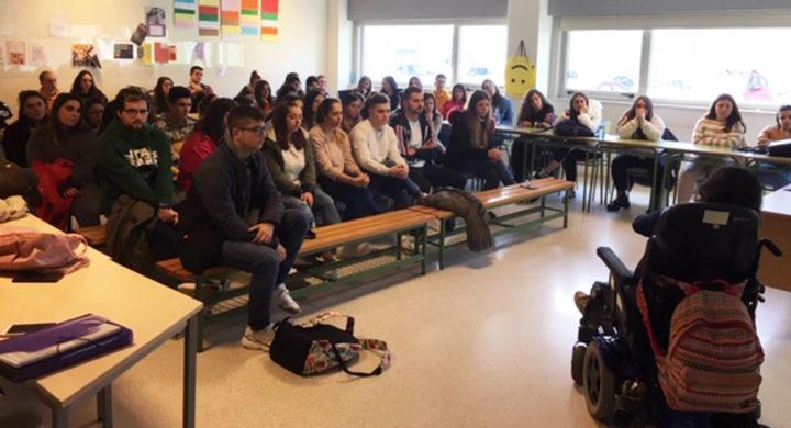 Alumnas de CIFP Compostela